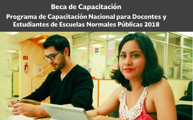 Programa de Capacitación Nacional para Docentes y Estudiantes de Escuelas Normales Públicas
