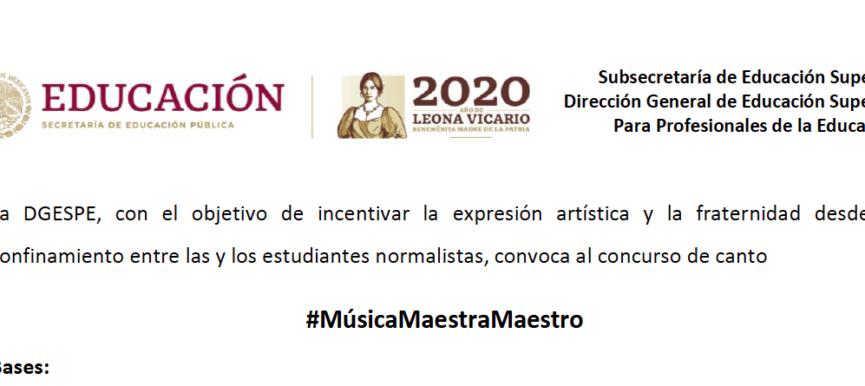 MúsicaMaestraMaestro
